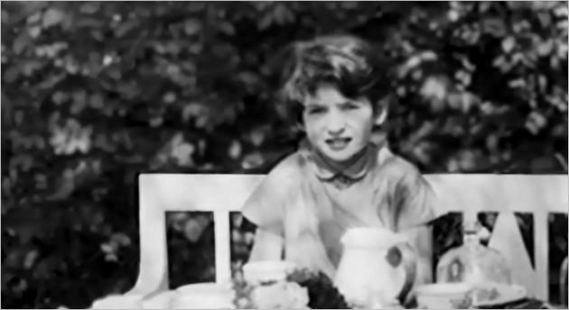 Monika Göth à l'âge de 11 ans