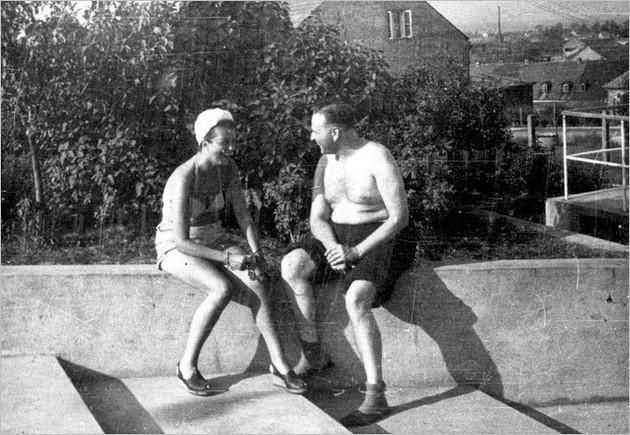 Ruth Kalder et Amon Goeth