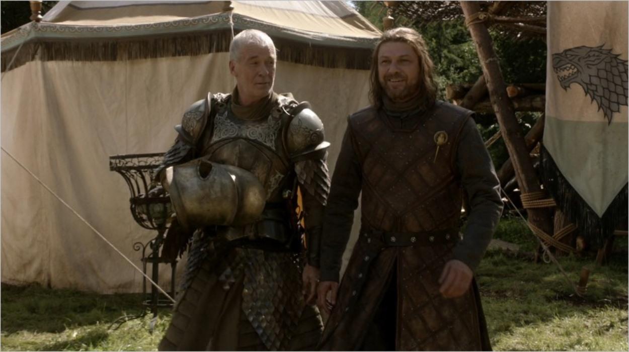 Barristan Selmy et Ned Stark - Game Of Thrones saison 1 épisode 5