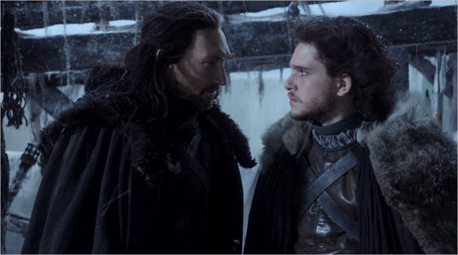 Benjen Stark salue Jon Snow - Game Of Thrones saison 1 épisode 3