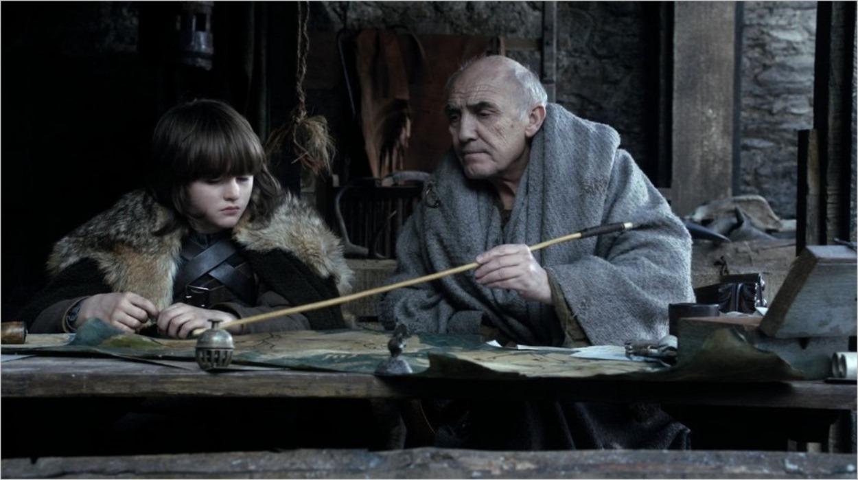 Bran avec mestre Luwin - Game Of Thrones