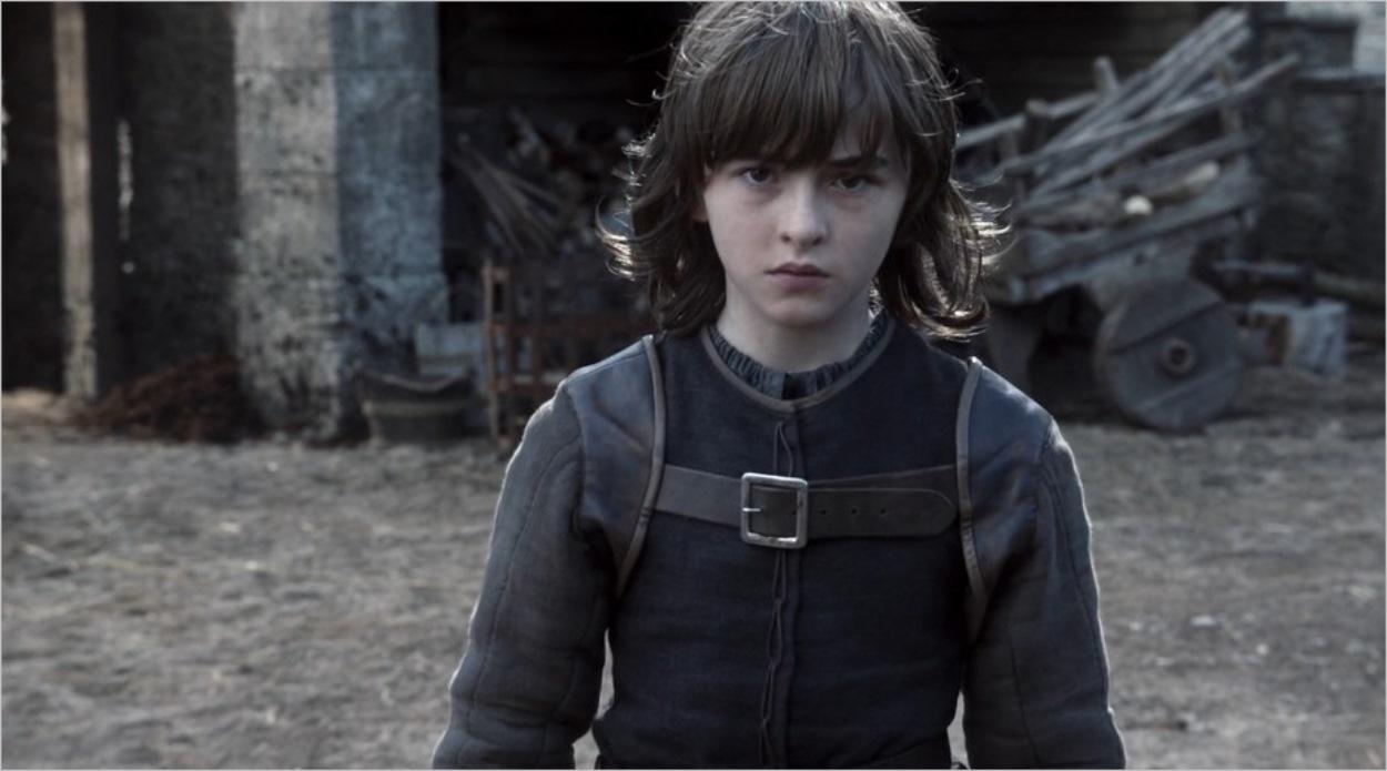 Bran Stark décidant de suivre la Corneille à trois yeux
