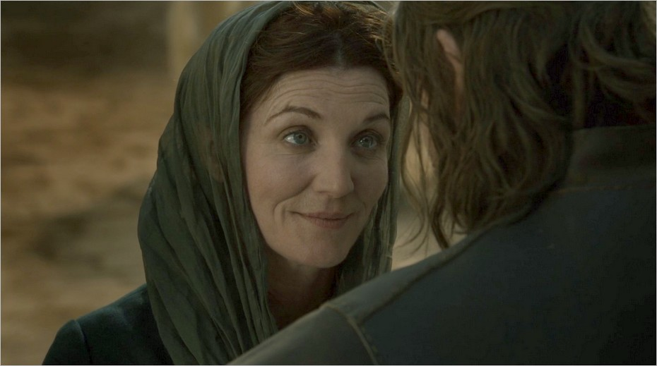Catelyn Stark quitte Port-Réal