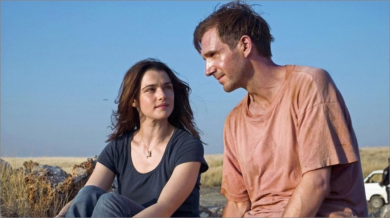 Ralph Fiennes et Rachel Weisz, The Constant Gardener