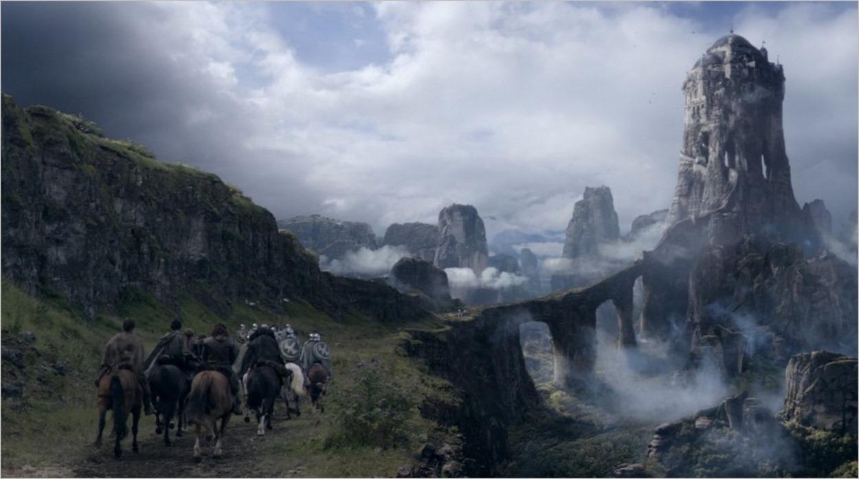 La région des Eyrié - Game Of Thrones