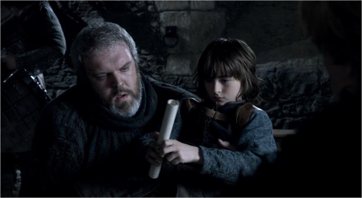Bran avec Hodor - Game Of Thrones saison 1 épisode 4