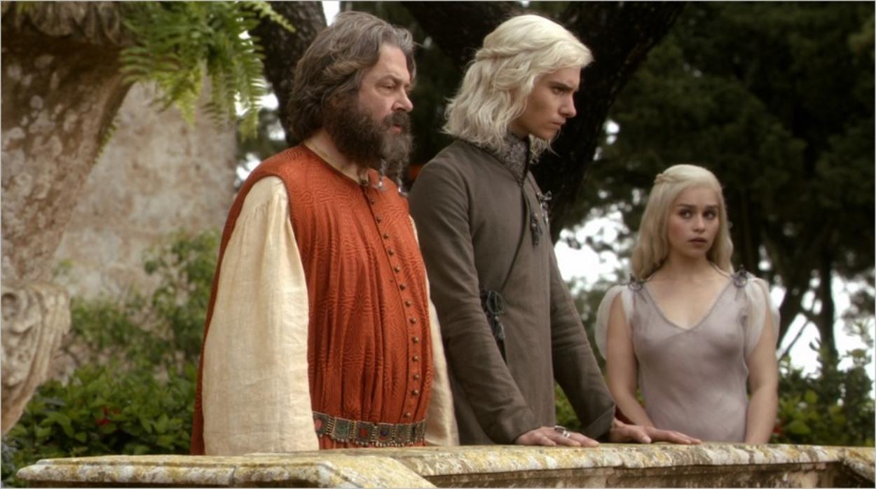 Viserys révèle à Mopatis ses plans concernant sa soeur