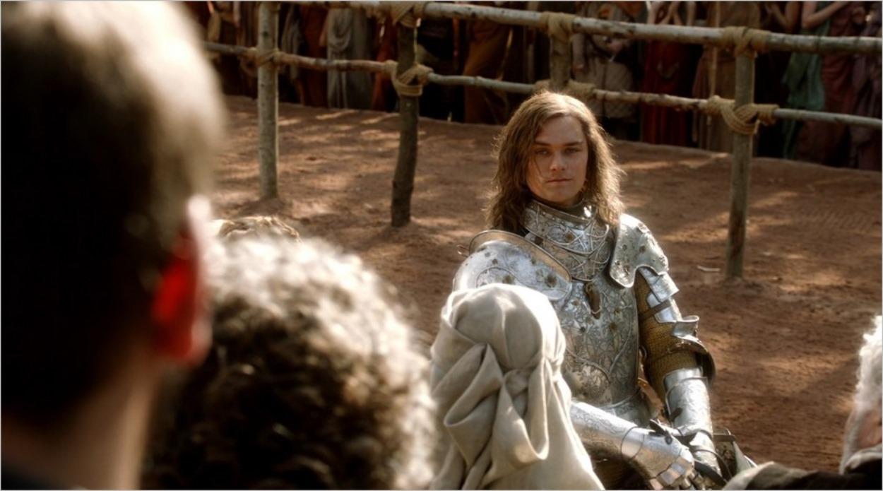 Loras Tyrell, le Chevalier des Fleurs