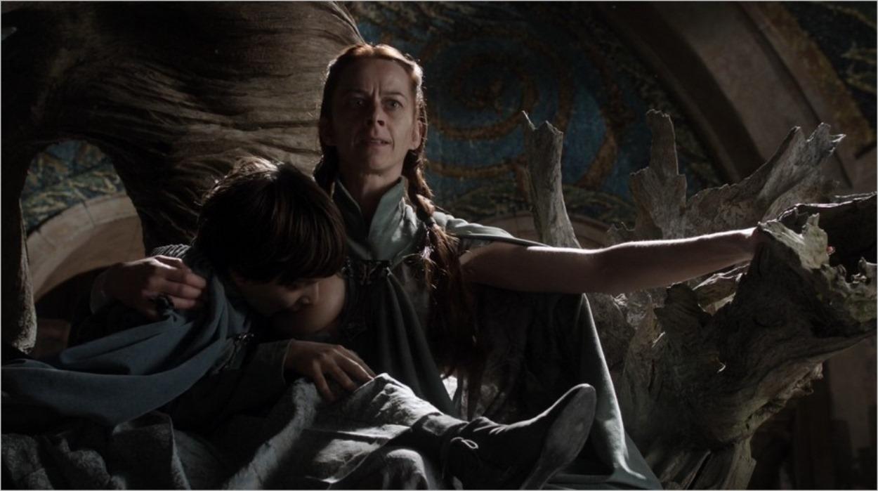 Lysa Arryn et son fils Robyn - Saison 1 épisode 5