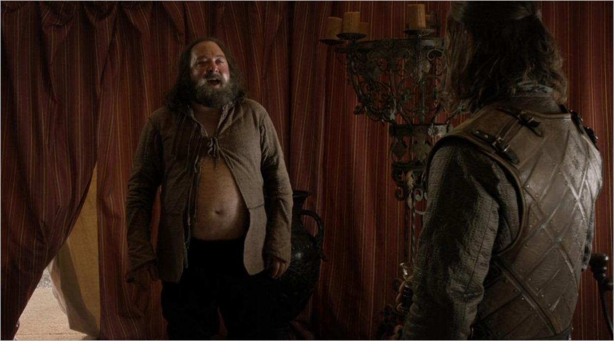 Robert Baratheon avec Ned Stark - Saison 1 épisode 5