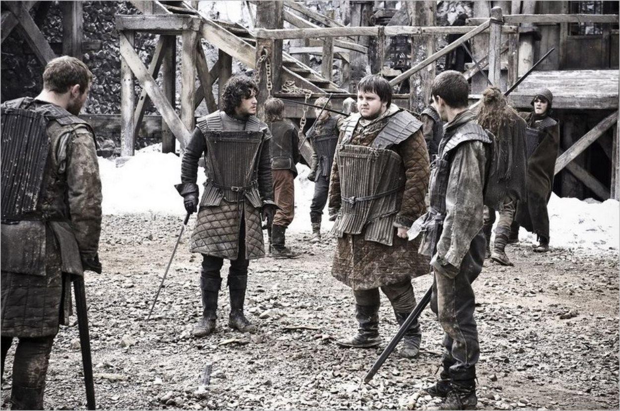 Samwell Tarly, nouvelle recrue de la Garde de Nuit - Game Of Thrones