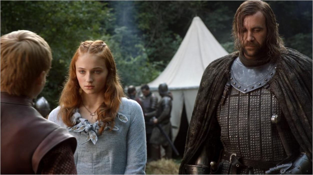 Sansa intimidée face à Joffrey