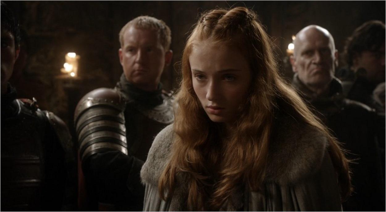 Sansa devant le Roi - Game Of Thrones saison 1
