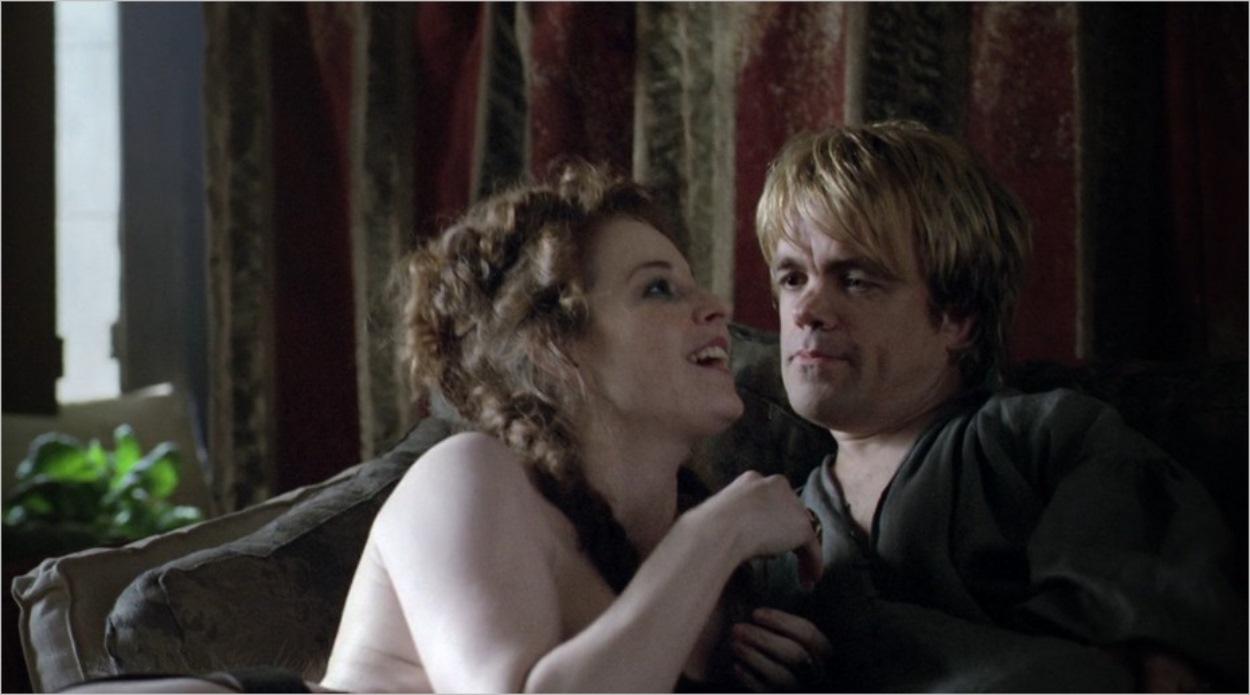 Tyrion Lannister avec la prostituée Ros - Game Of Thrones saison 1 épisode 1