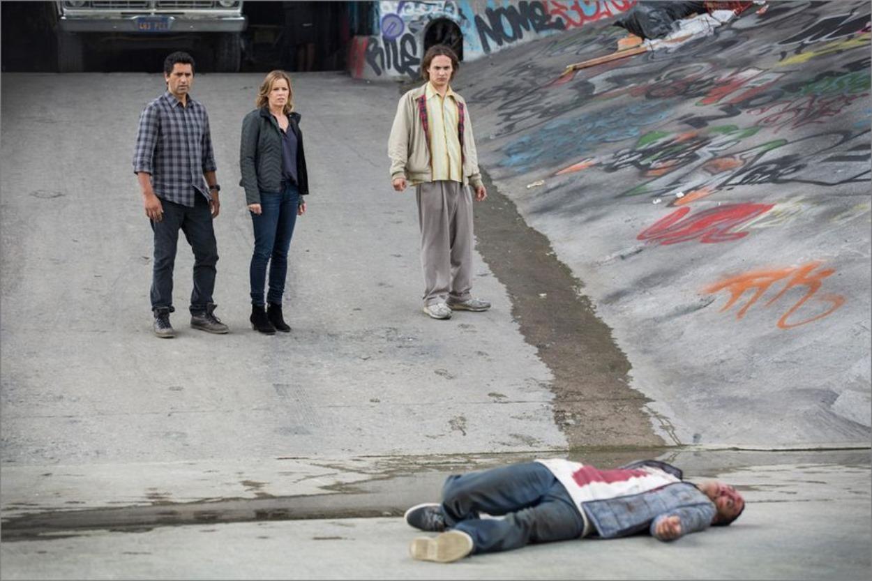 Frank Dillane dans Fear The Walking Dead