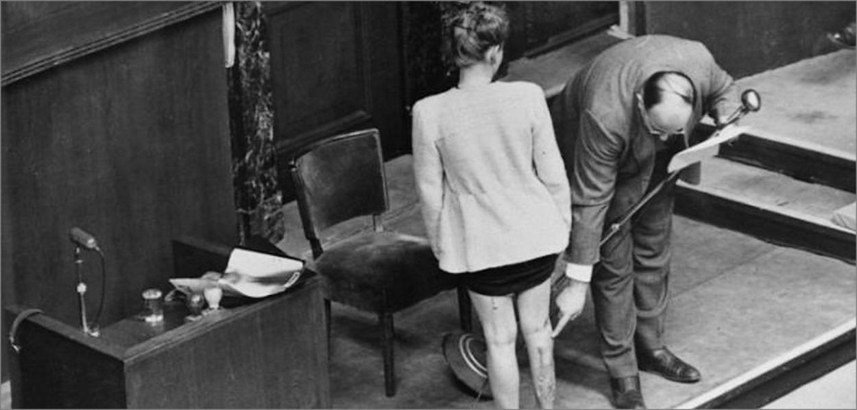 Une victime des expérimentations des médecins nazis vient attester de ses séquelles au procès de Nuremberg