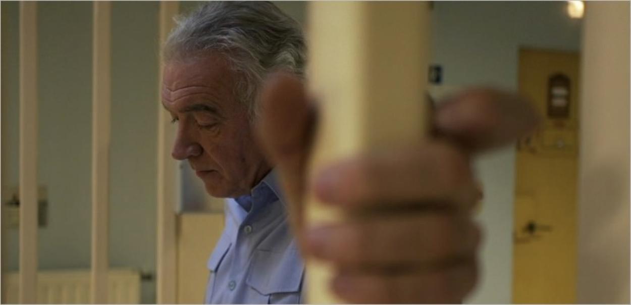 Jean, surveillant de prison dans le documentaire La Nef des Fous