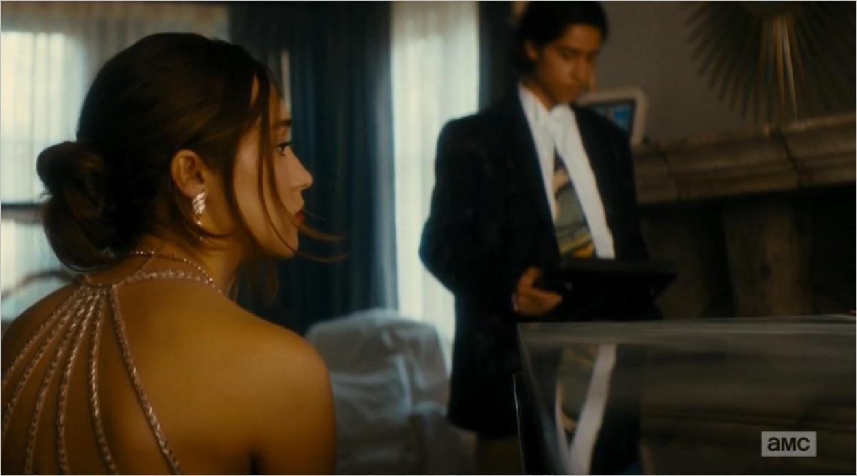 Alicia et Chris (Alycia Debnam-Carey et Lorenzo James Henrie)