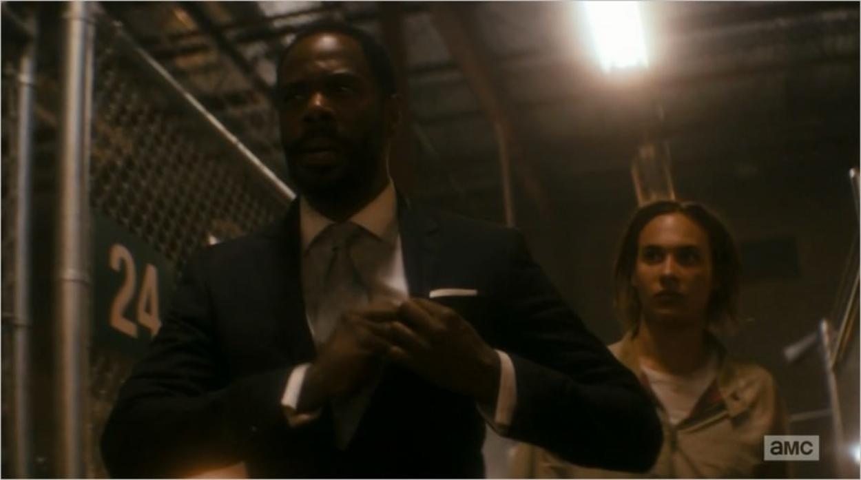 Victor Strand (Colman Domingo) et Nick Clark (Frank Dillane) - Fear The Walking Dead