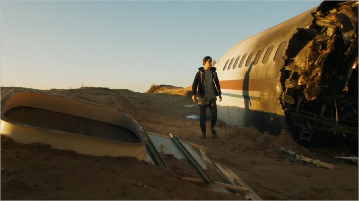 Chris découvre la carcasse du vol 462