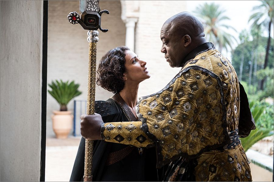 Ellaria Sand face à Areo Hotah - Game Of Thrones