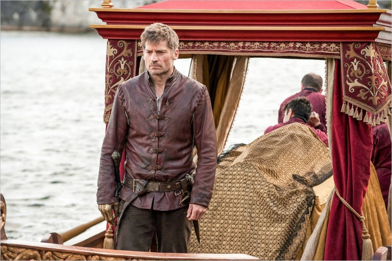 Jaime Lannister ramène le corps de Myrcella - Game Of Thrones