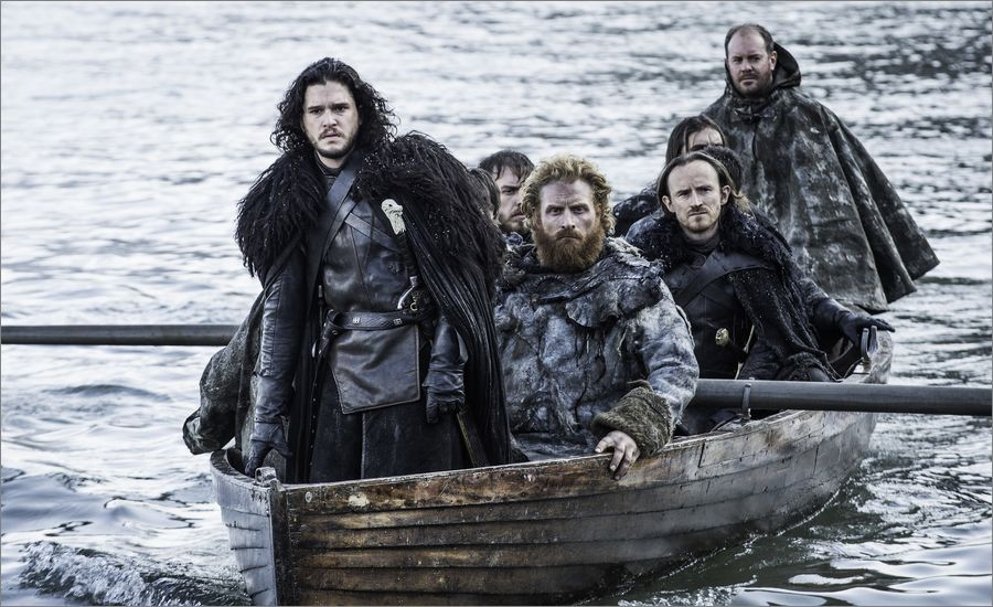 Jon Snow et Tormund arrivent à Durlieu - Game Of Thrones