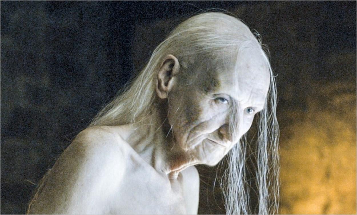 Le vrai visage de Mélisandre, la femme rouge - Game Of Thrones