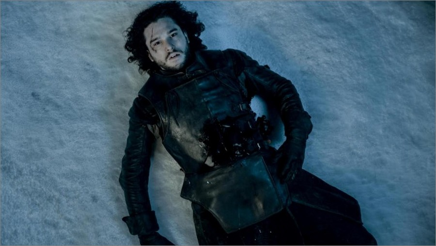 La mort de Jon Snow - Game Of Thrones