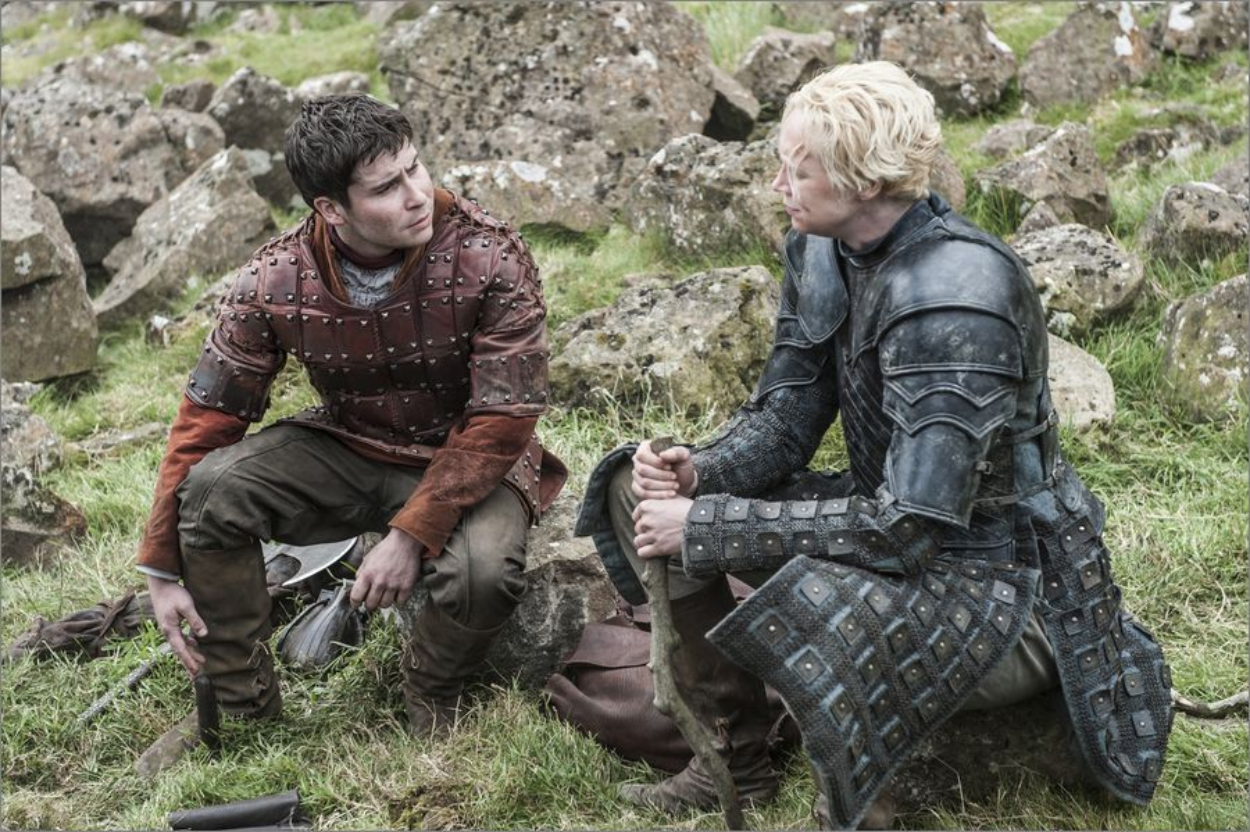 Podrick Payne et Brienne de Torth - Game Of Thrones