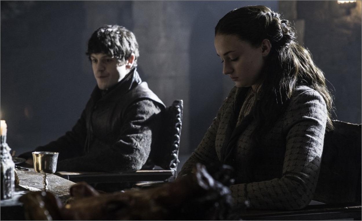 Sansa Stark et Ramsay Bolton - Game Of Thrones