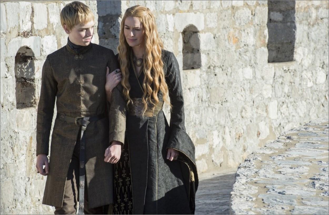 Tommen et Cersei - Game of Thrones