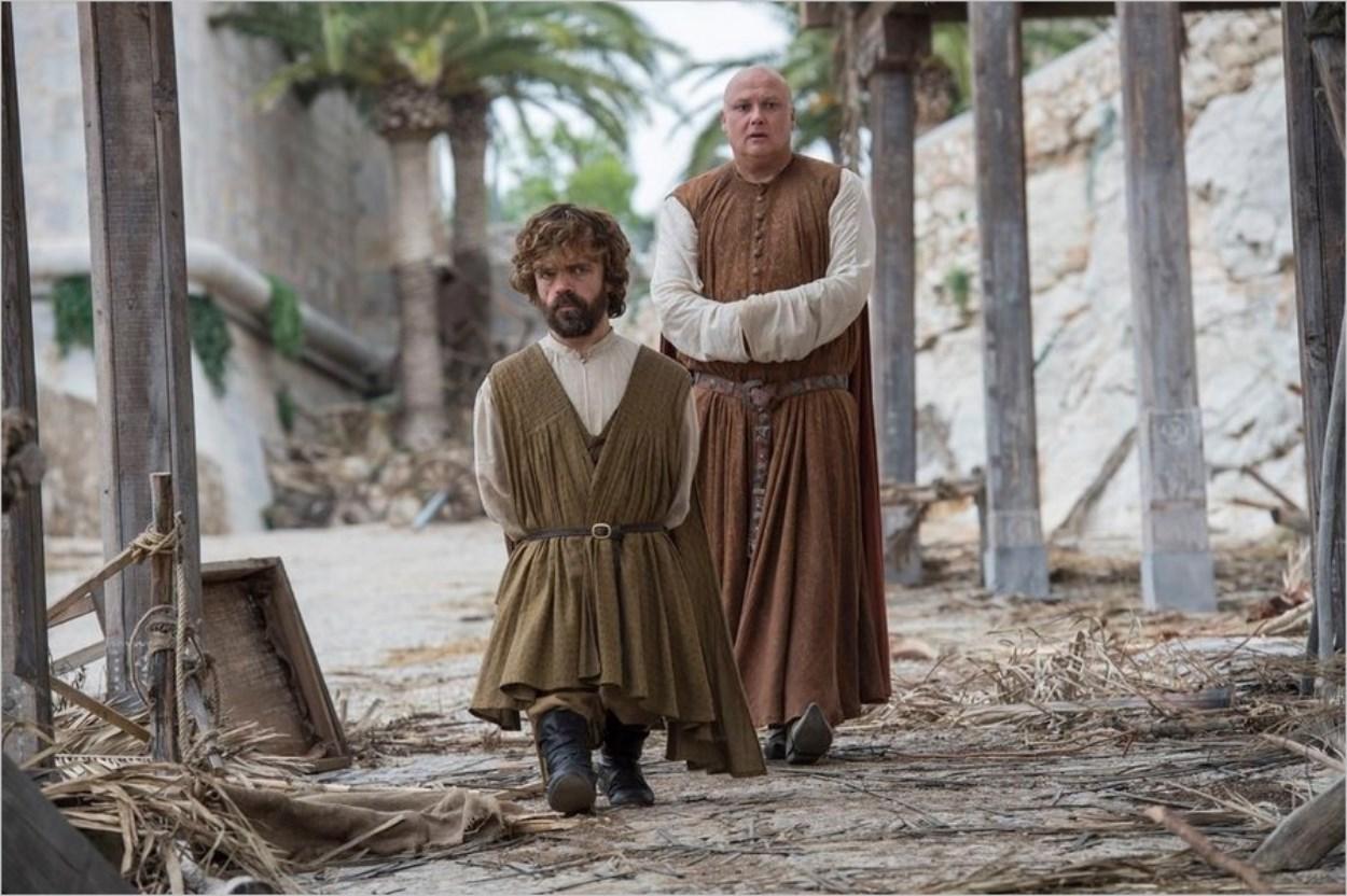 Tyrion Lannister et Varys à Meereen - Game Of Thrones