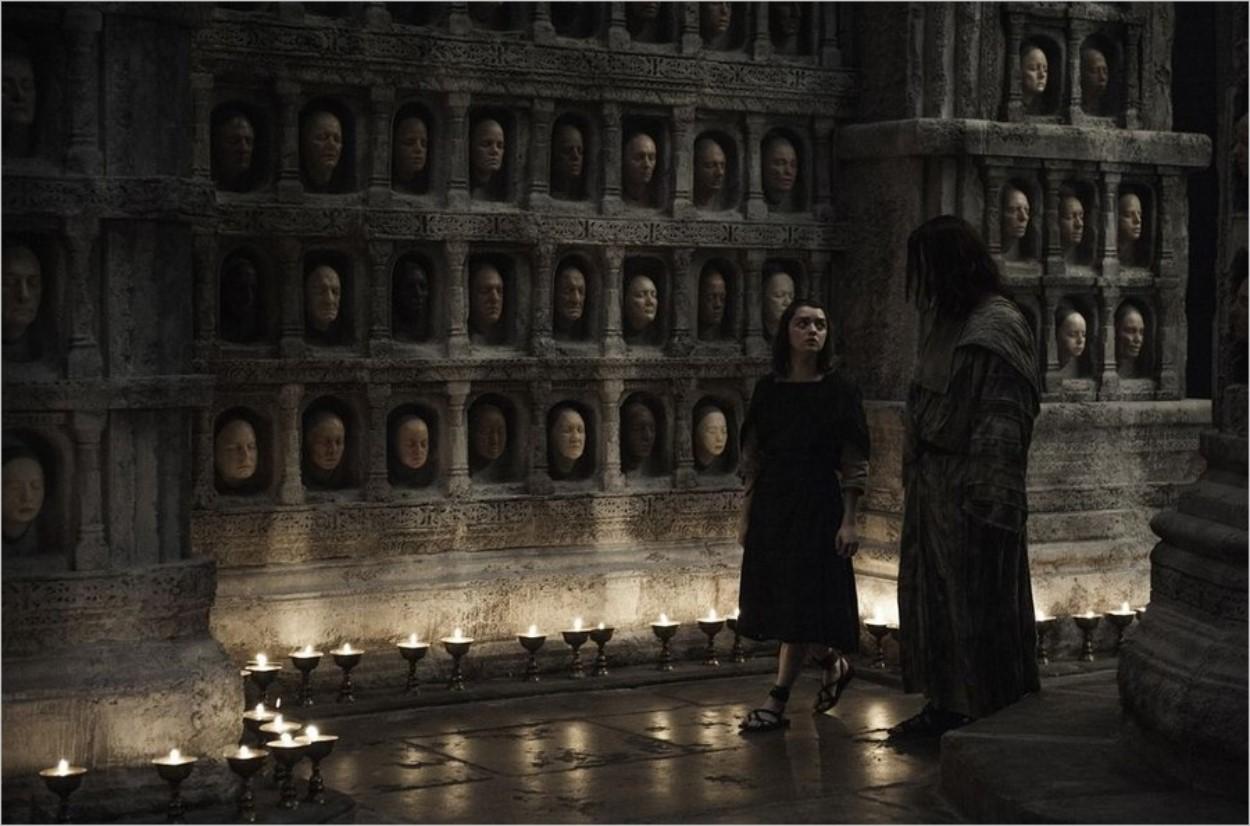 Arya Stark et Jaqen H'ghar