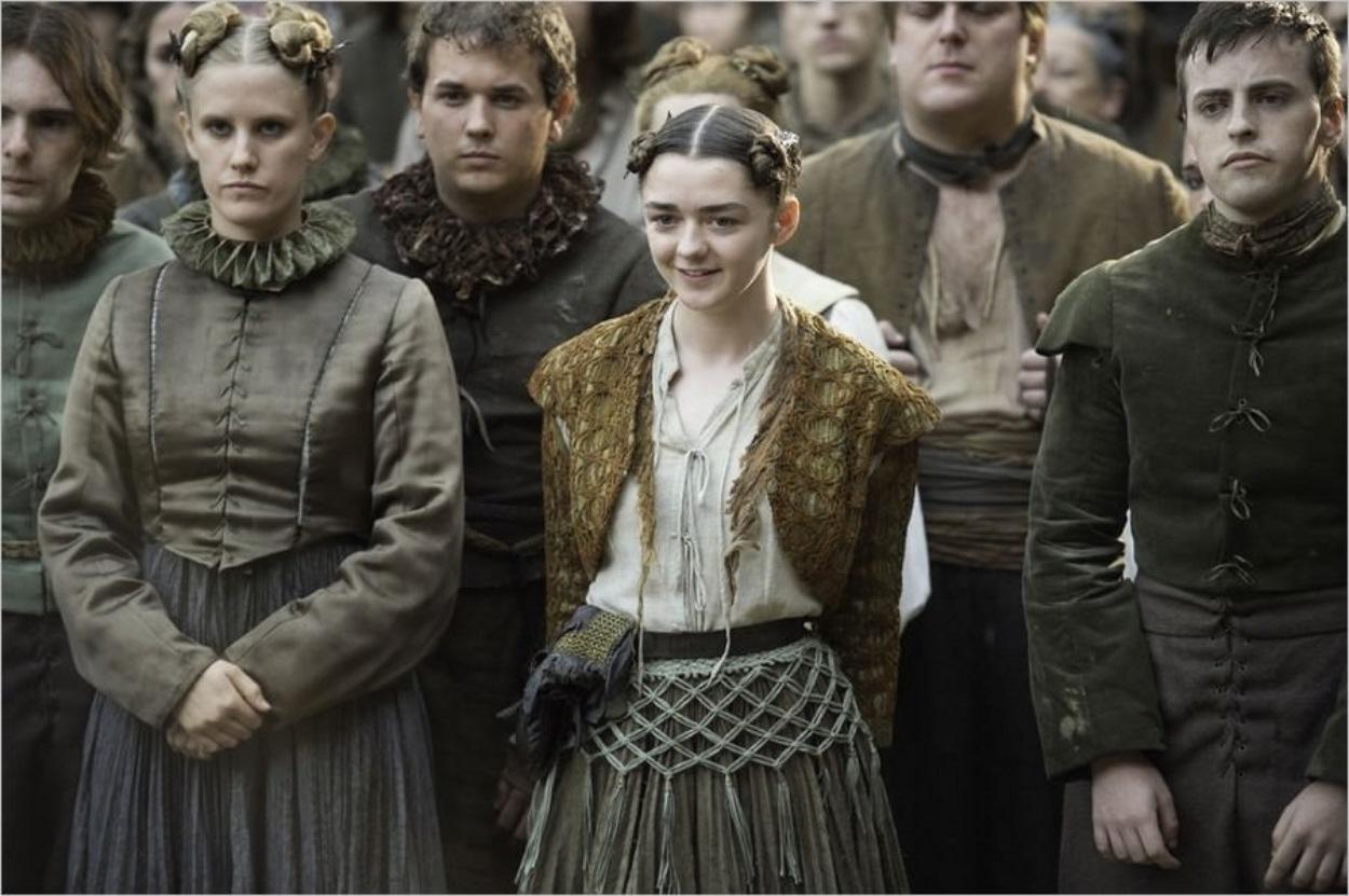Arya Stark à Braavos dans Game Of Thrones saison 6 épisode 6