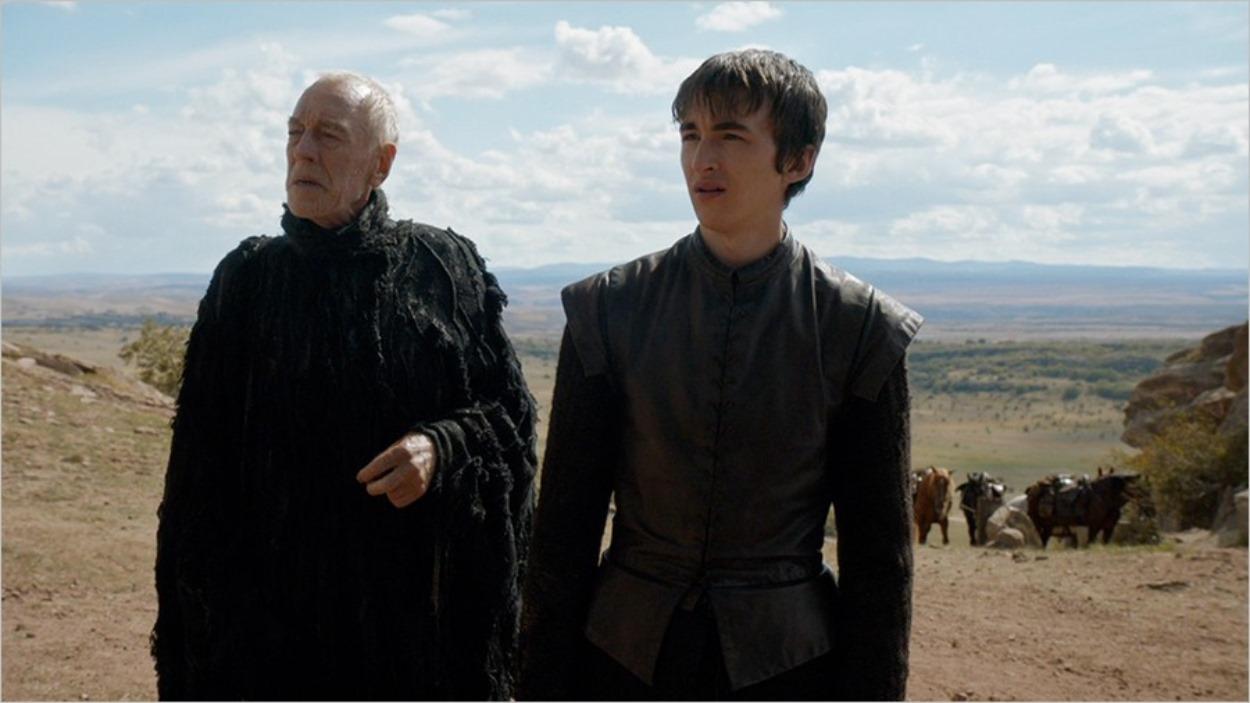 La Corneille à Trois Yeux et Bran Stark - Game Of Thrones