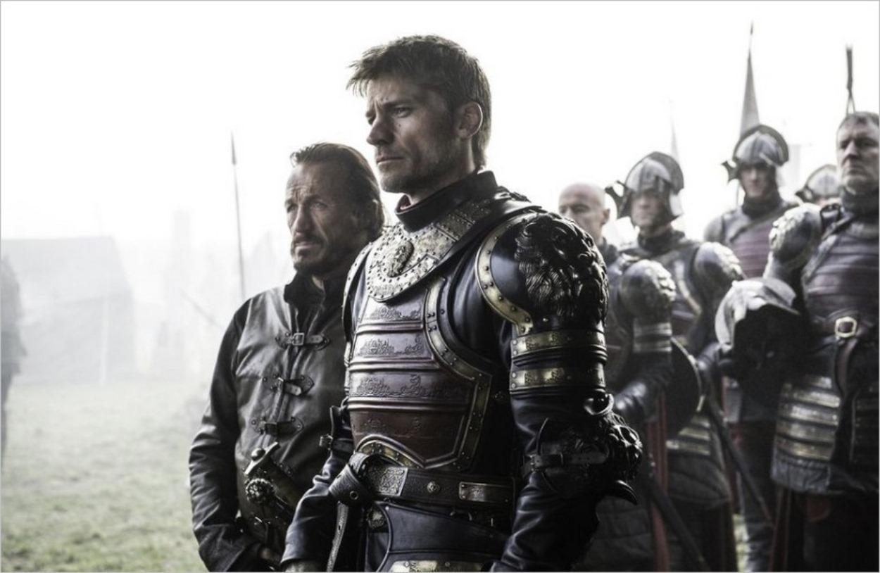Jaime Lannister en tenue de combat