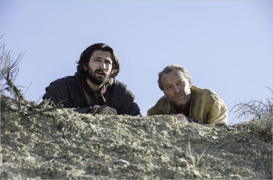 Game Of Thrones saison 6 épisode 4 - Jorah Mormont et Daario Naharis