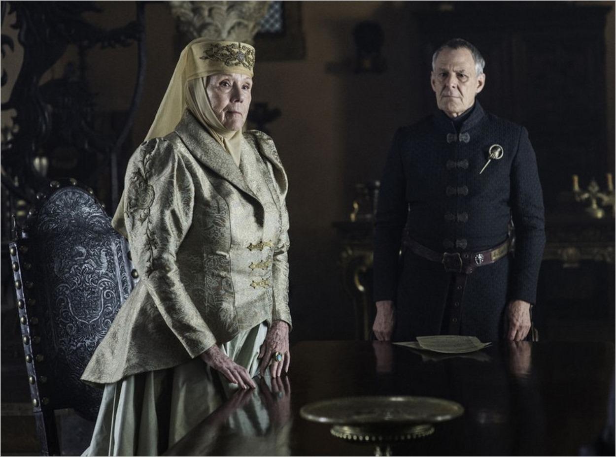 Olenna Tyrell et la Main du Roi, Kevan Lannister