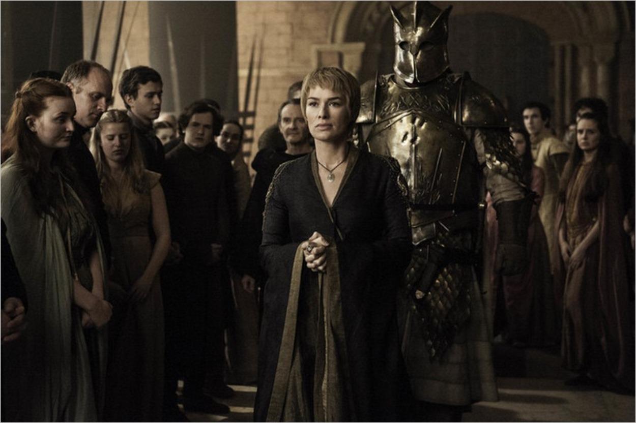 Cersei Lannister avec La Montagne