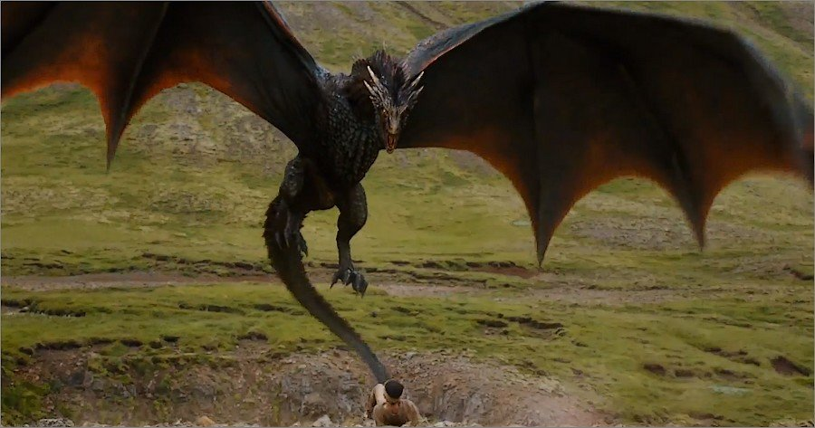 Attaque de dragon - Game Of Thrones