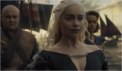 Daenerys, Varys et Missandei