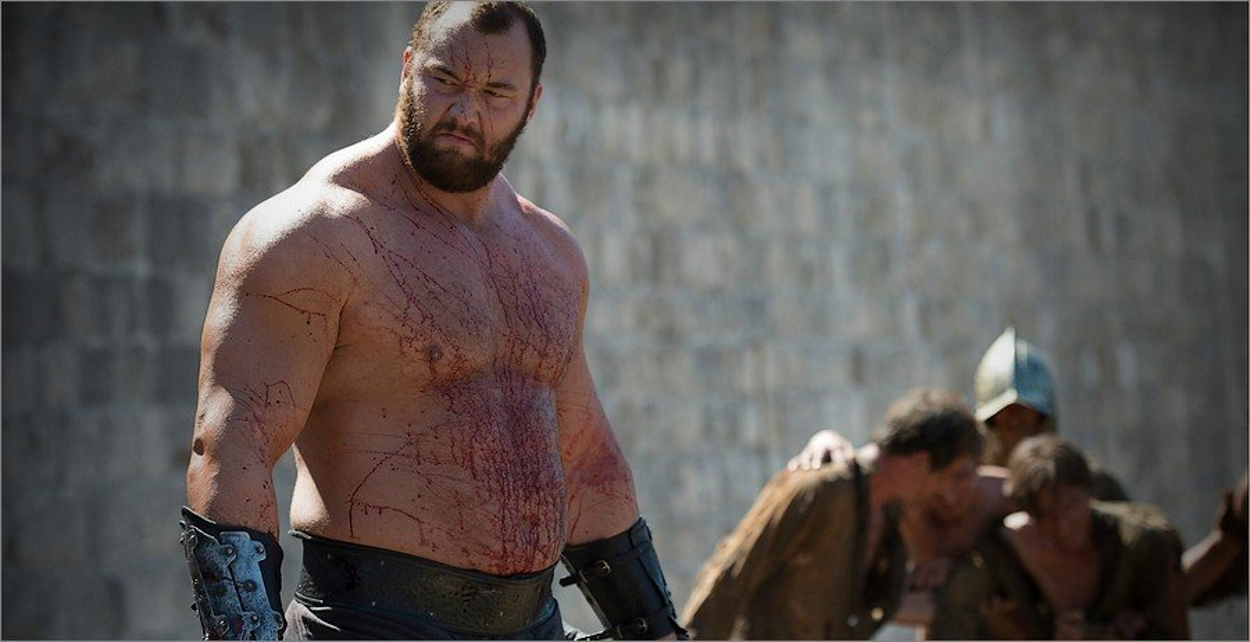 Gregor Clegane La Montagne - Game Of Thrones