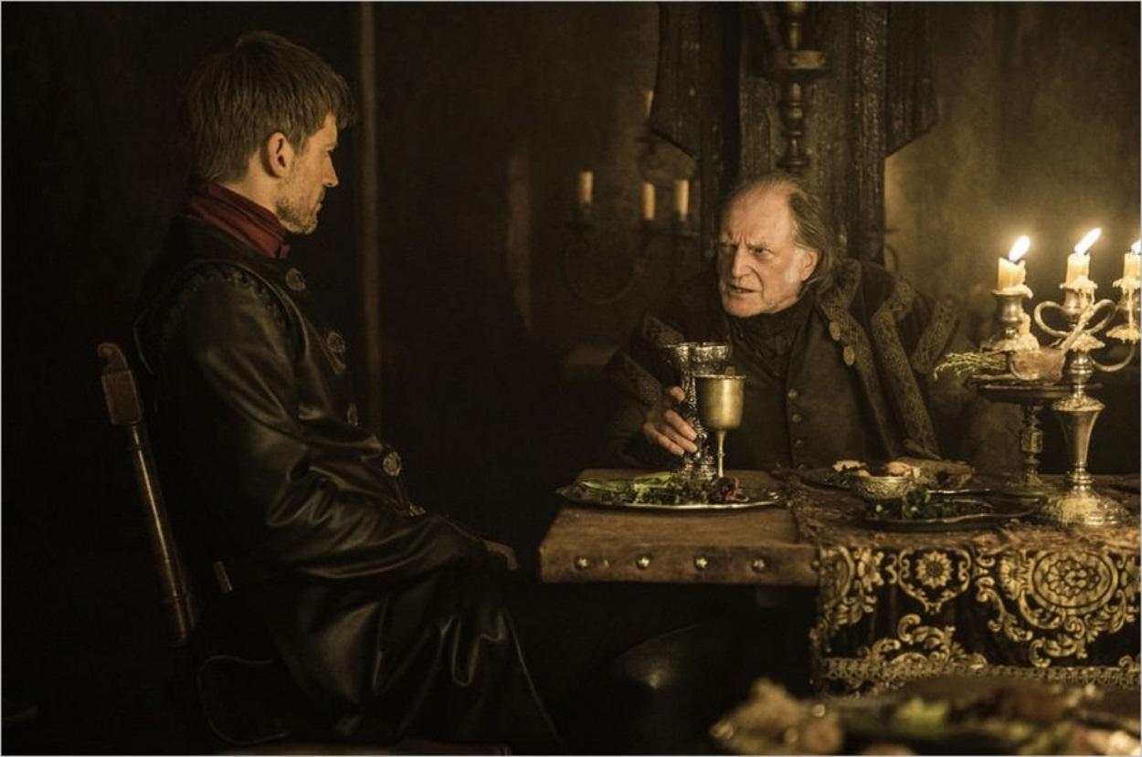 Jaime Lannister et Walder Frey