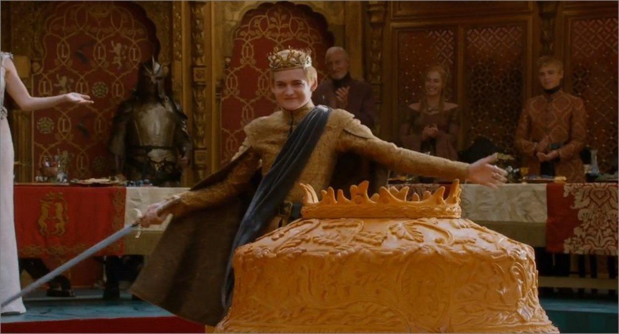 Le roi Joffrey le jour de son mariage - Game Of Thrones