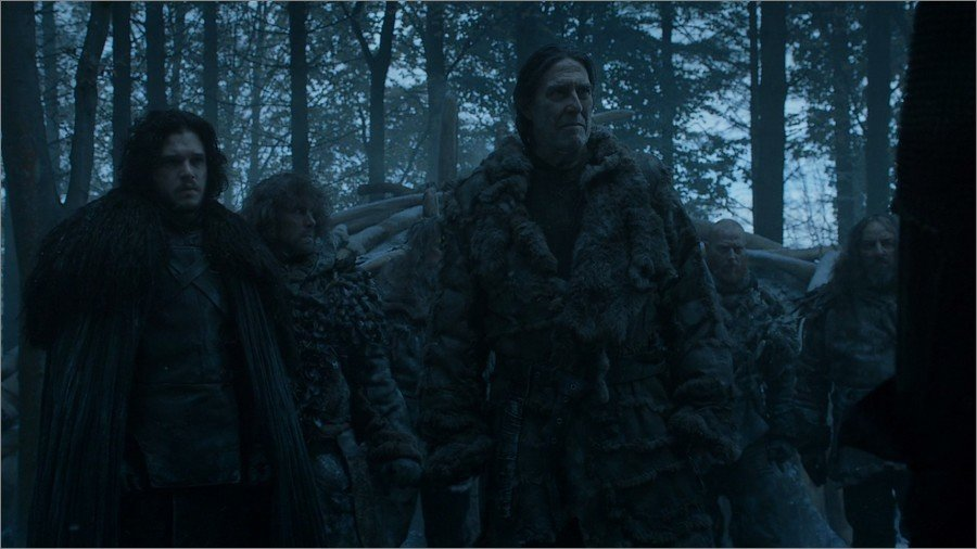 Jon Snow et Mance Rayder - Game Of Thrones