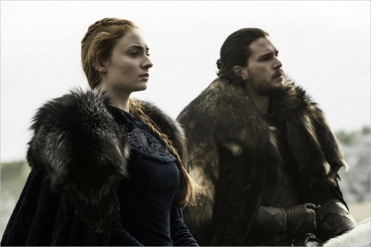 Sansa Stark et Jon Snow à la reconquête de Winterfell