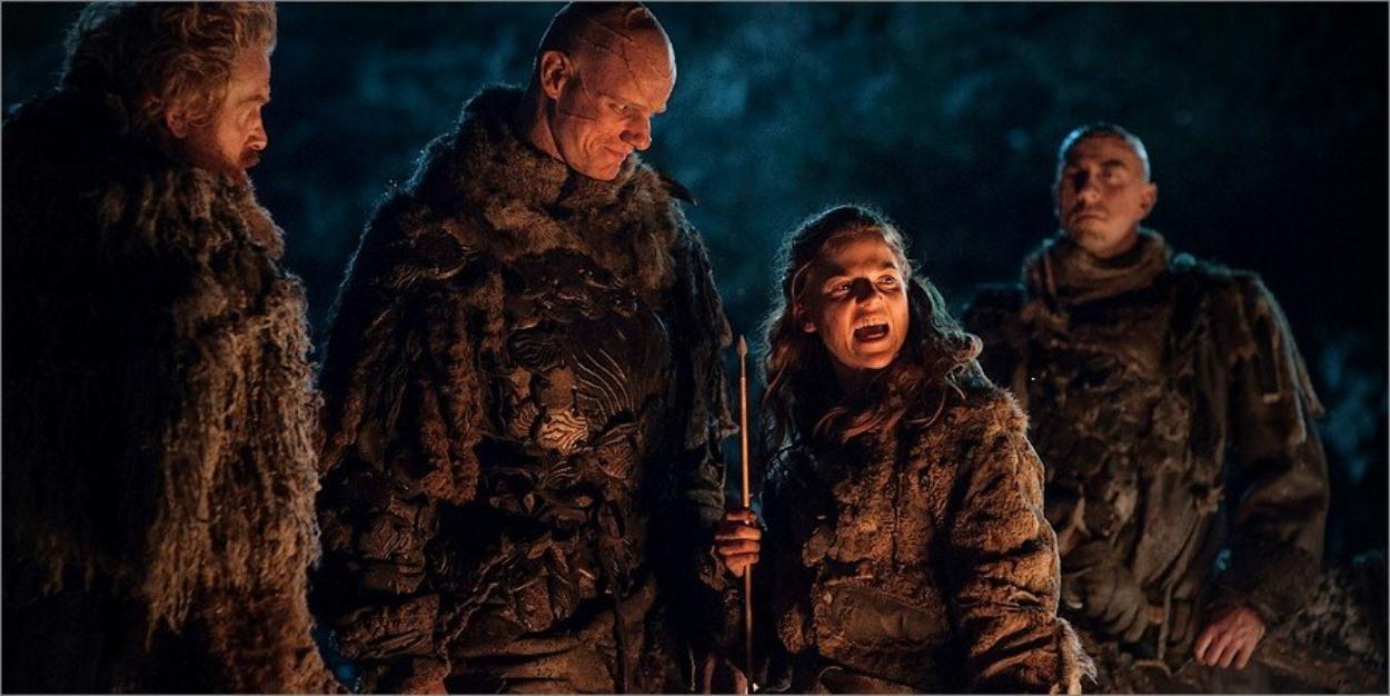 Ygrid au sein de la patrouille de Tormund - Game Of Thrones
