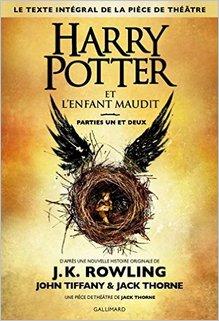 Harry Potter et l'enfant maudit, J.K. Rowling