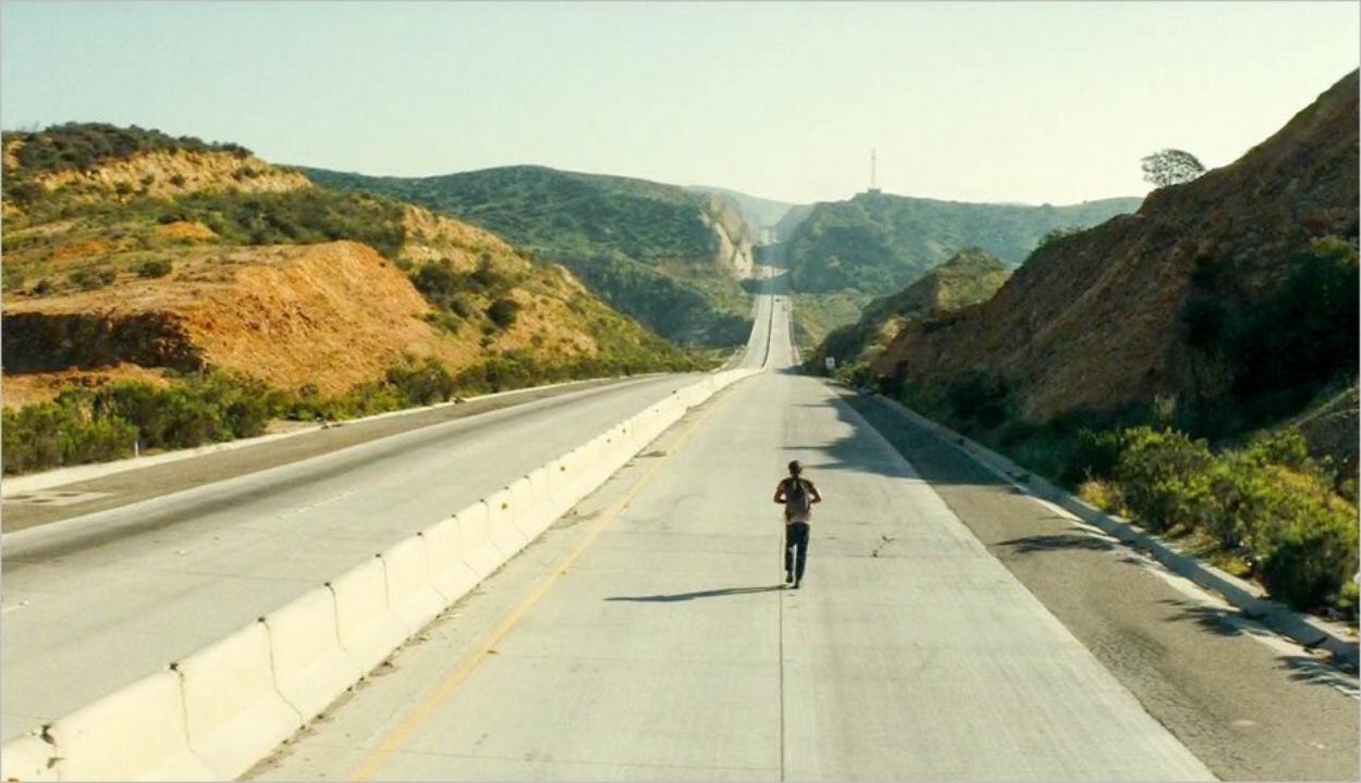 Nick sur l'autoroute en direction de Tijuana